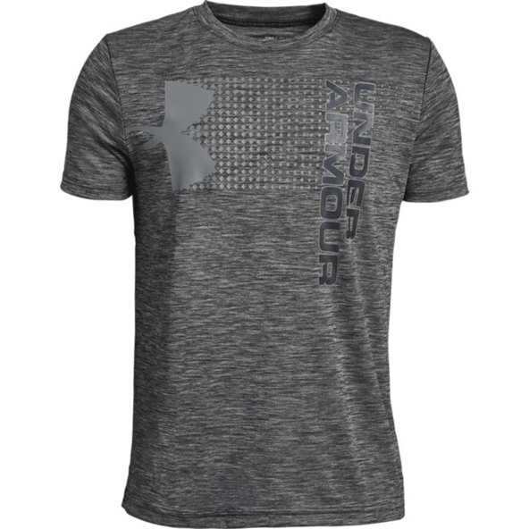 Under Armour® Crossfade Boys' T-Shirt, Black