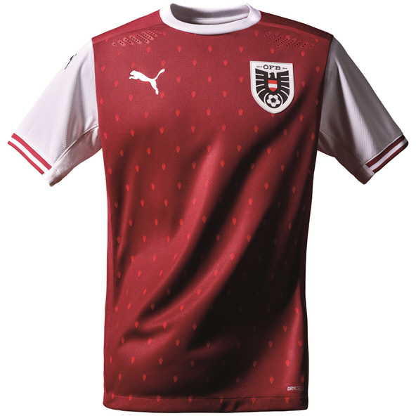 Puma Austria Home 20 Jersey Red