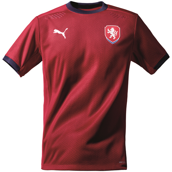 Puma Czech Rep Home 20 Jersey Red