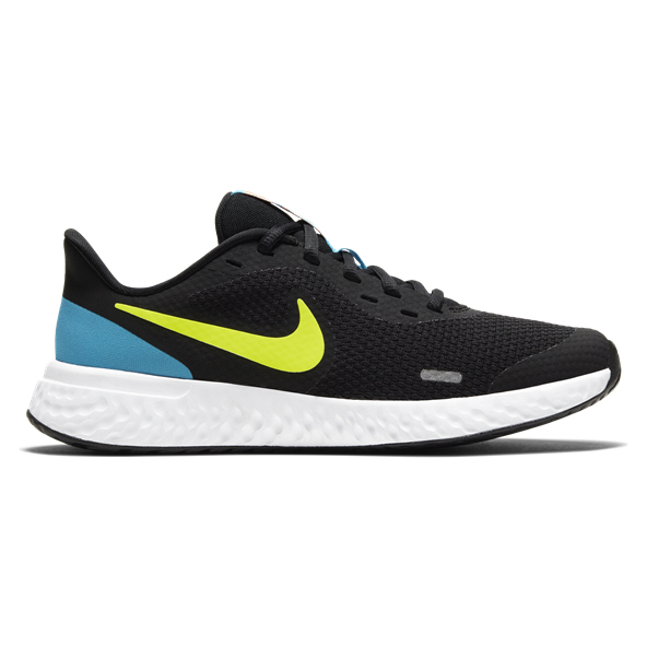 Nike Revolution 5 Boys' Running Shoe, Black