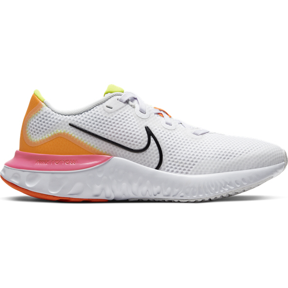 Nike Renew Run Girls' Running Shoe, White