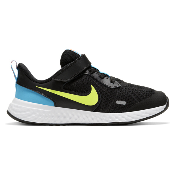 Nike Revolution 5 Junior Boys' Trainer, Black