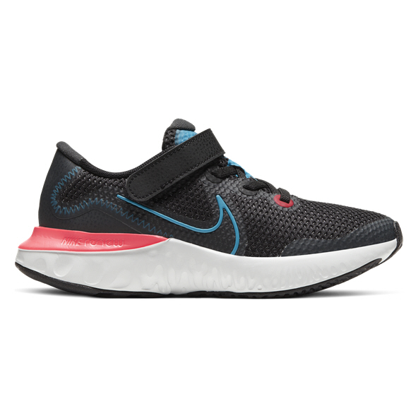 Nike Renew Run Junior Boys' Trainer, Black