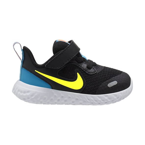Nike Revolution 5 Infant Boys' Trainer, Black