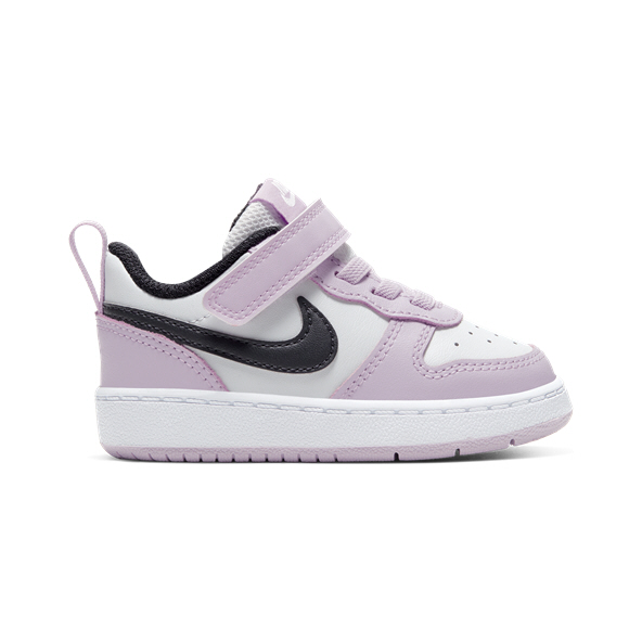 Nike Court Borough Low 2 Infant Girls' Trainer, Grey