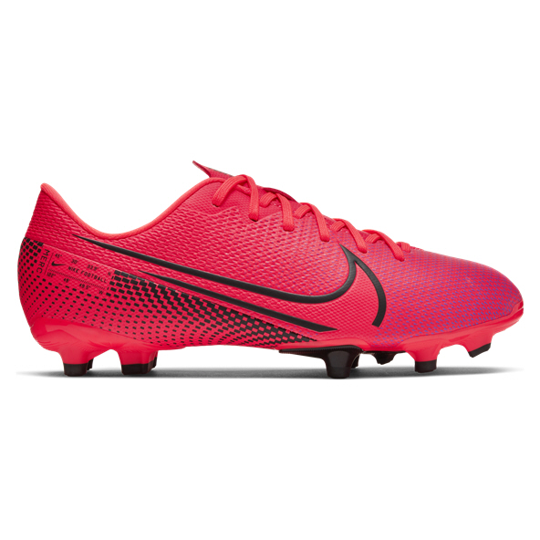 Nike Mercurial Vapor 13 Academy FG Kids' Football Boot, Red