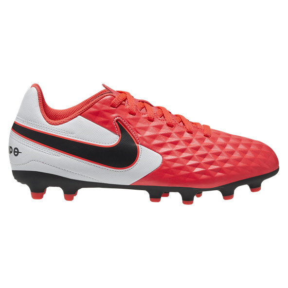 Nike Tiempo Legend 8 Academy Kids' MG Football Boot, Red