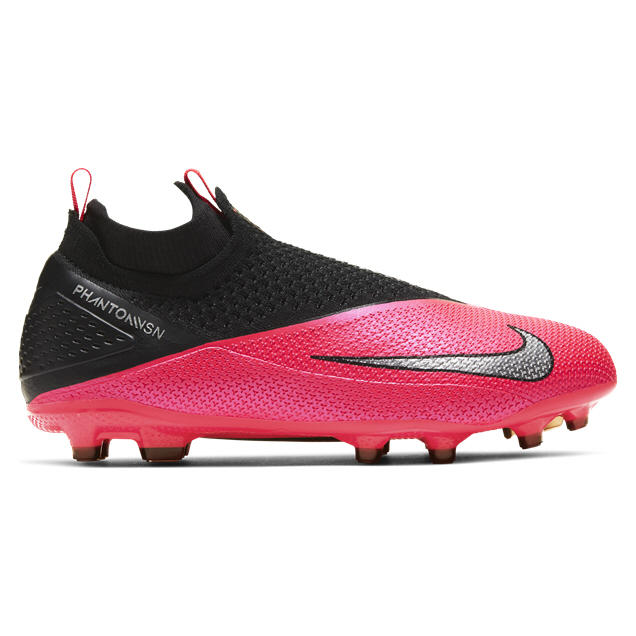 Nike Phantom Vision 2 Elite Kids' Football Boot  Red