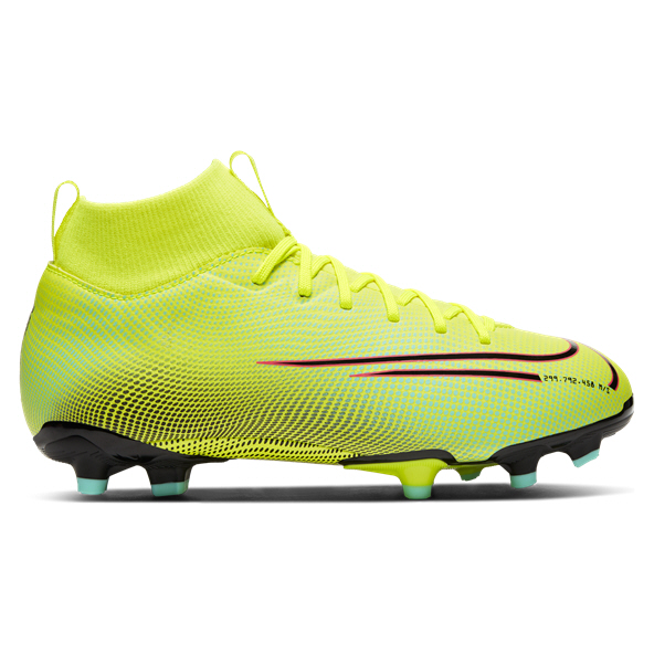 Nike Mercurial Superfly 7 Academy MDS Kids' Football Boot, Yellow
