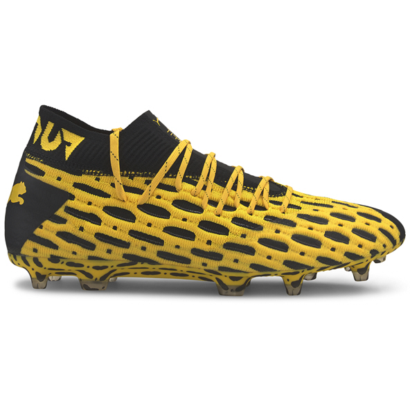 Puma Future 5.1 NetFit FG Football Boot, Yellow