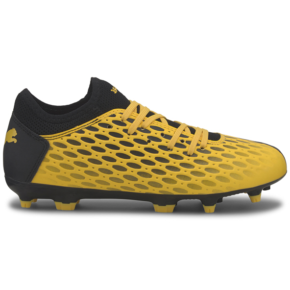 Puma Future 5.4 FG Kids' Football Boot, Yellow