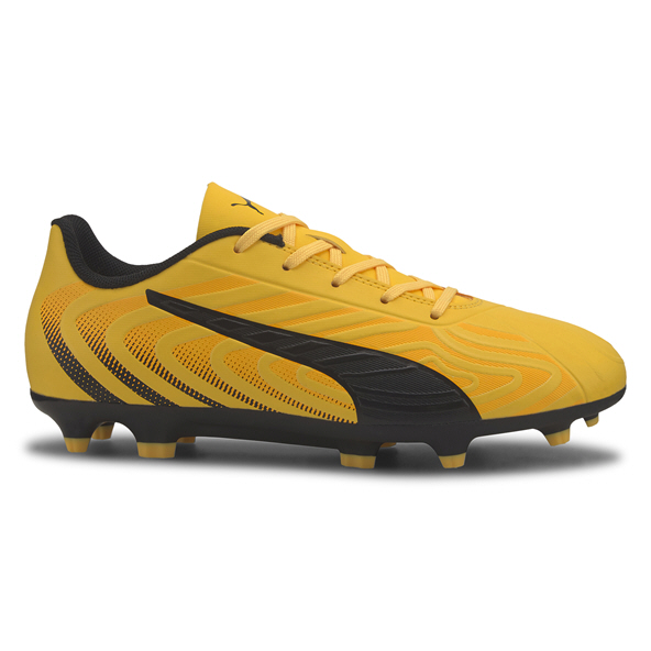 Puma ONE 20.4 FG/AG Kids' Football Boot, Yellow