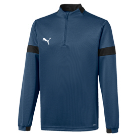 Puma ftblPLAY Boys' ¼-Zip Top, Navy
