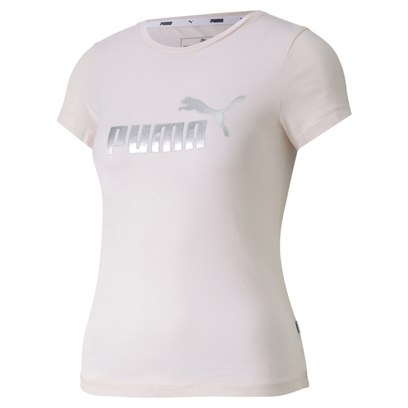 Puma Essentials+ Girls' T-Shirt, Rose
