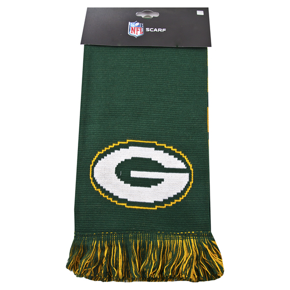 FOCO Packers Scarf Green
