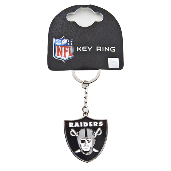 FOCO Raiders Keyring Black