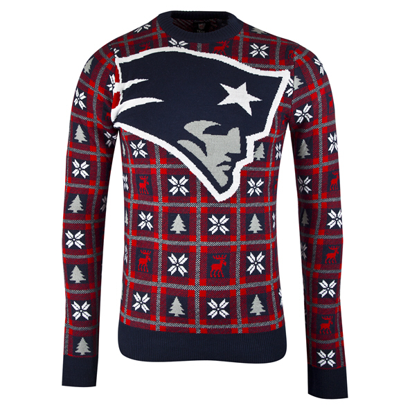 Foco Patriots Christmas Jumper Navy