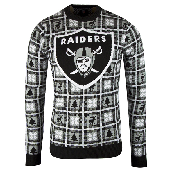 Foco Raiders Christmas Jumper Black