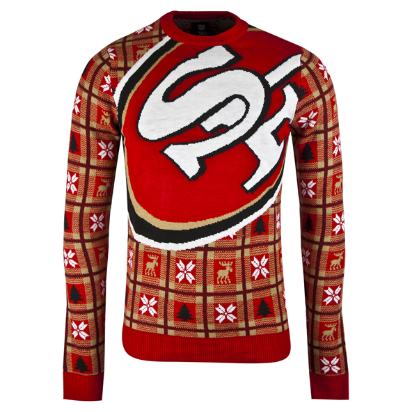 Foco 49ers Christmas Jumper Red