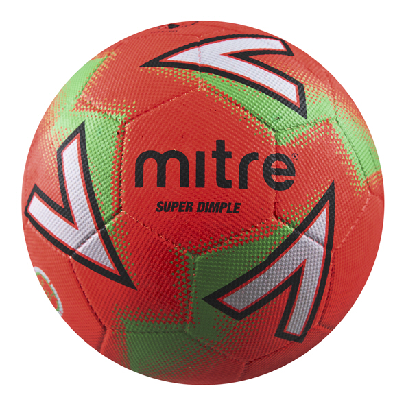Mitre Super Dimple Tarmac Ball Scarlet