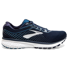 Brooks GHOST 12  Men's Running Shoe, Navy