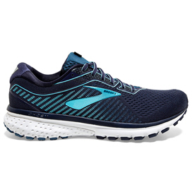 Brooks GHOST 12 Women's Running Shoe, Navy