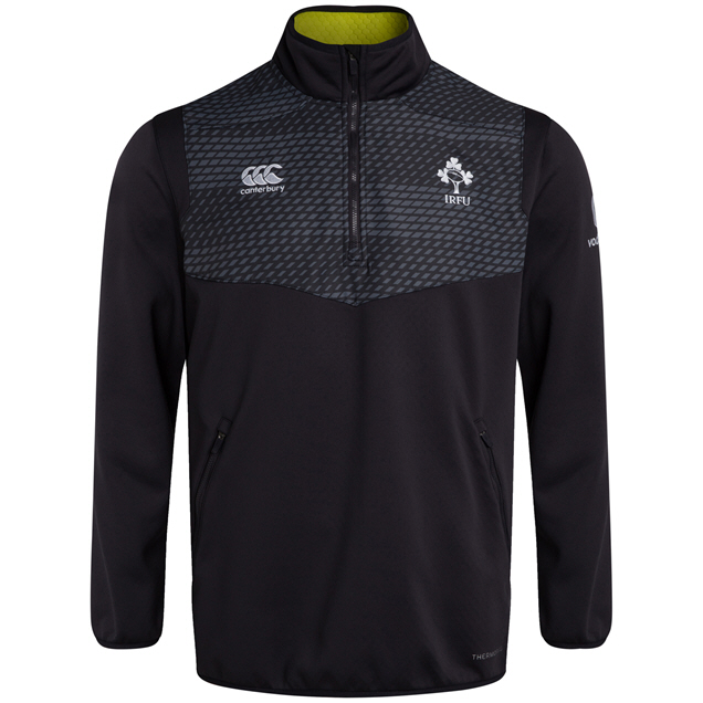 Canterbury IRFU 20 QZ Top Grey