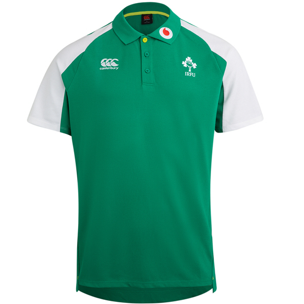 Canterbury IRFU 20 Polo Green