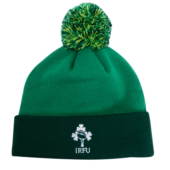 Canterbury IRFU 20 Bobble Hat Green
