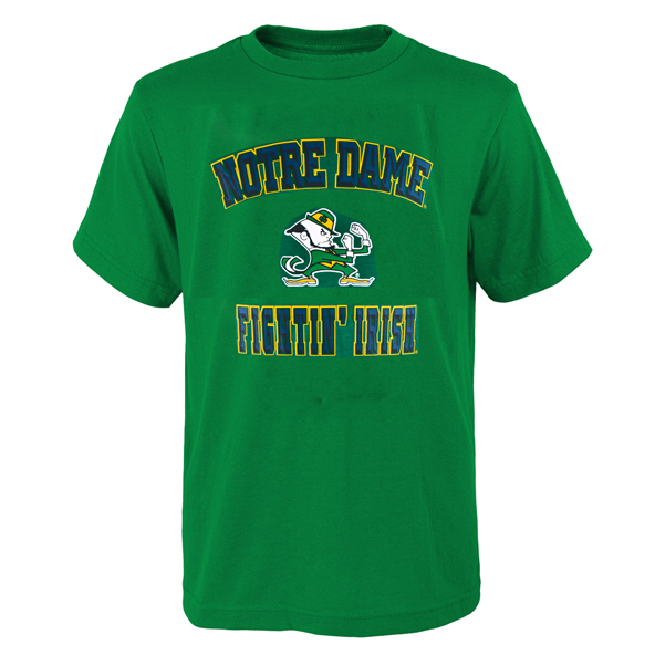Outerstuff Notre Dame Tee Green