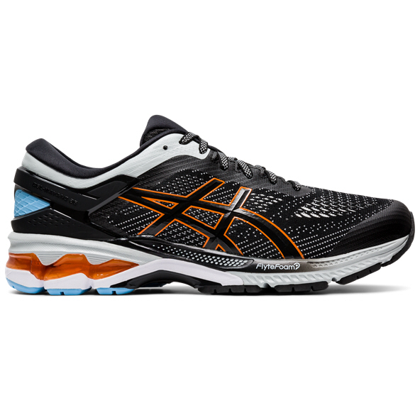 Asics Gel-Kayano 26 Men's Running Shoe, Black