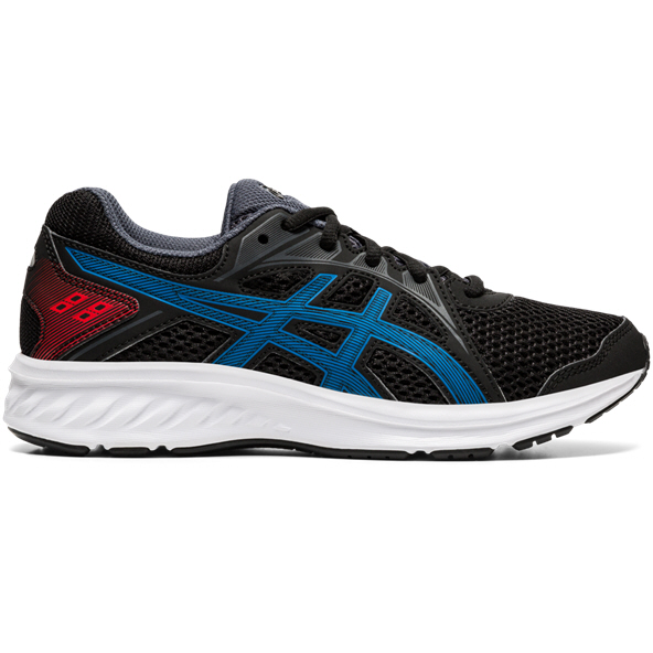 Asics Jolt 2 Boys' Running Shoe, Black