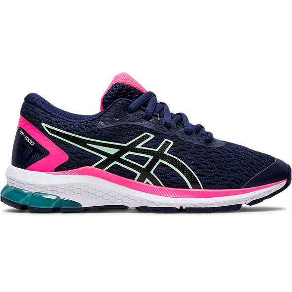 Asics GT-1000 9 Girls' Running Shoe, Navy