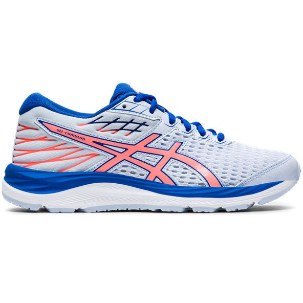 Asics Gel-Cumulus 21 Girls' Running Shoe, Blue