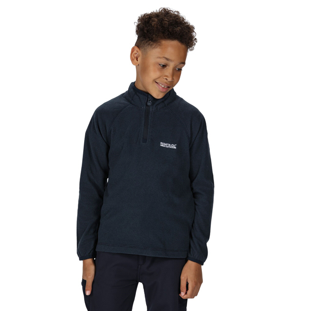 Regatta Loco ¼ Zip Boys' Fleece, Navy