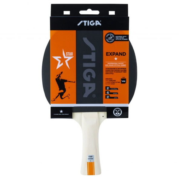 Stiga Expand 1 Star Table Tennis Bat