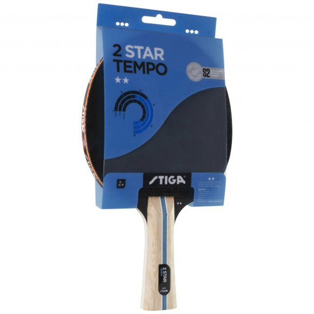 Stiga Tempo 2 Star Table Tennis Bat
