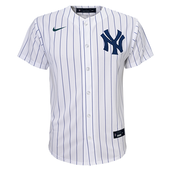 Nike Yankees Home Kids Jersey Wht
