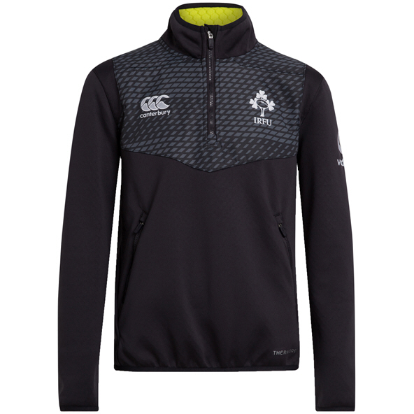 Canterbury IRFU 20 1/4 Zip Kids' Top Grey