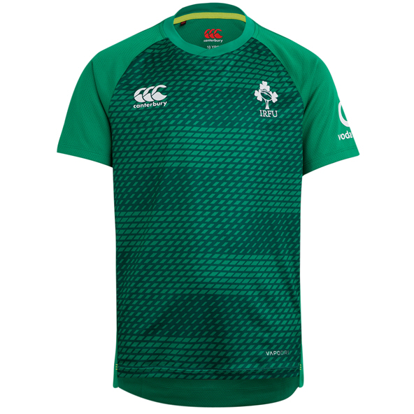 Canterbury IRFU 20 Kids Poly Tee Green