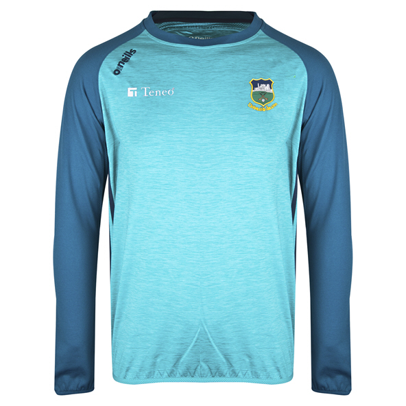 O'Neills Tipperary Achill Brushed Crew Top, Blue