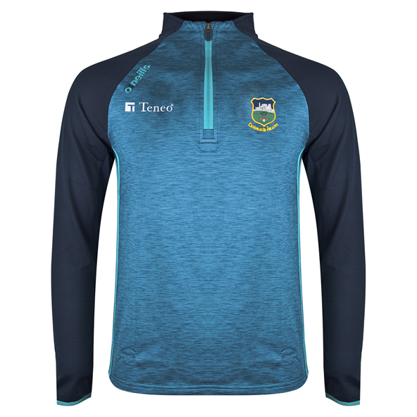 O'Neills Tipperary Achill ½ Zip Brushed Top, Blue