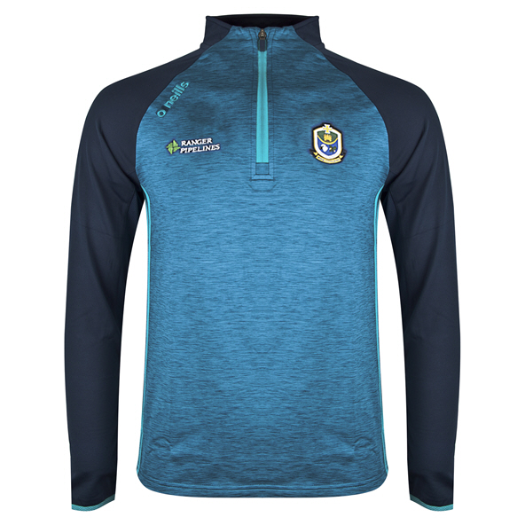 O'Neills Roscommon Achill ½ Zip Brushed Top, Blue
