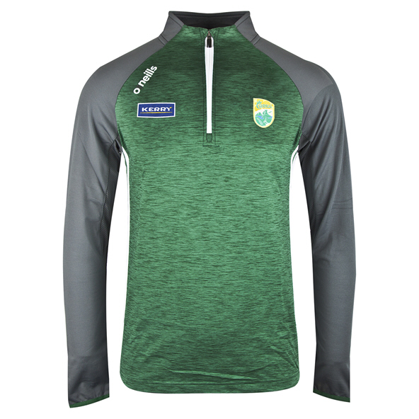 O'Neills Kerry Achill ½ Zip Brushed Top, Green