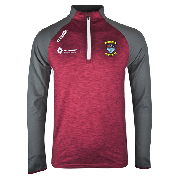 O'Neills Westmeath Achill ½ Zip Brushed Top, Maroon
