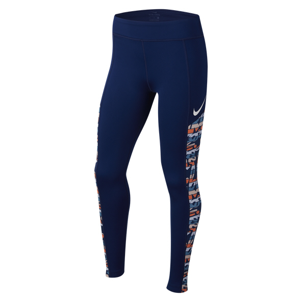 Nike Trophy Girls FG Tights Blue