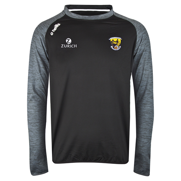 O'Neills Wexford Achill Brushed Crew Top, Grey