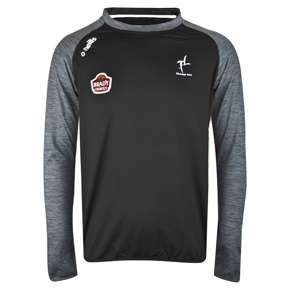 O'Neills Kildare Achill Brushed Crew Top, Black