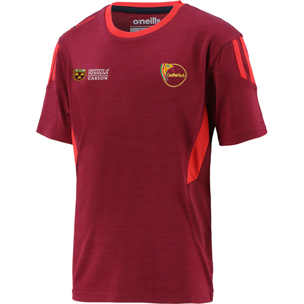 O'Neills Carlow Raven Kids' T-Shirt, Red