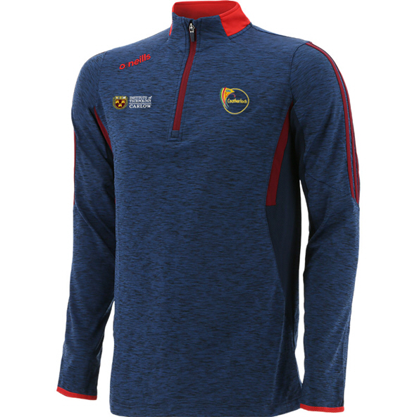 O'Neills Carlow Raven ½ Zip Brushed Kids' Top, Navy